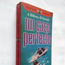 Libros de segunda mano: UN CASO PERFECTO | RIBERA, ANTONIO | EDITORIAL PLAZA & JANÉS 1977. Lote 186355532