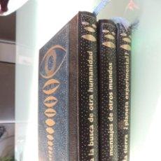 Libros de segunda mano: LOS ENIGMAS DE LAS CIVILIZACIONES EXTRATERRESTRES / JUAN JOSÉ ABAD / 3 TOMOS. Lote 187330997