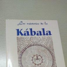 Libros de segunda mano: LOS MISTERIOS DE LA KABALA, ELÍAS GEWURZ. Lote 227003815