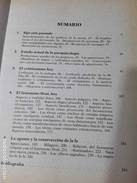 Libros de segunda mano: Salvador Freixedo. Visionarios, misticos y contactos extraterrestres. Ilustrado. Excelente estado - Foto 3 - 187525803