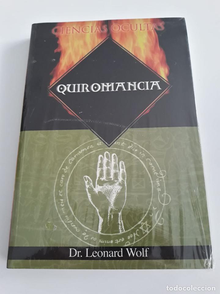 QUIROMANCIA WOLF, LEONARD (Libros de Segunda Mano - Parapsicología y Esoterismo - Numerología y Quiromancia)