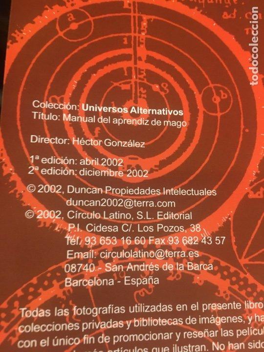 Libros de segunda mano: MANUAL DEL APRENDIZ DE MAGO / HORACIO MORENO / 2ª EDICIÓN / 2002 CIRCULO LATINO - Foto 3 - 189773135