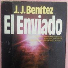 Libros de segunda mano: EL ENVIADO – J.J. BENÍTEZ (PLAZA & JANÉS, 1987) /// OVNIS UFOLOGÍA JESUCRISTO ERICH VON DANIKEN DIOS. Lote 190272133