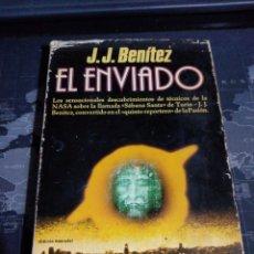 Libros de segunda mano: EL ENVIADO J.J BENÍTEZ, UFOLOGÍA. Lote 190297523