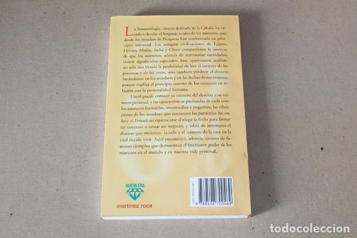 Libros de segunda mano: EL PODER DE LOS NUMEROS. EL LENGUAJE MÁGICO DE LA NUMEROLOGÍA. CARLOS DE FAZIO - MARTINEZ ROCA 1996 - Foto 3 - 191465230