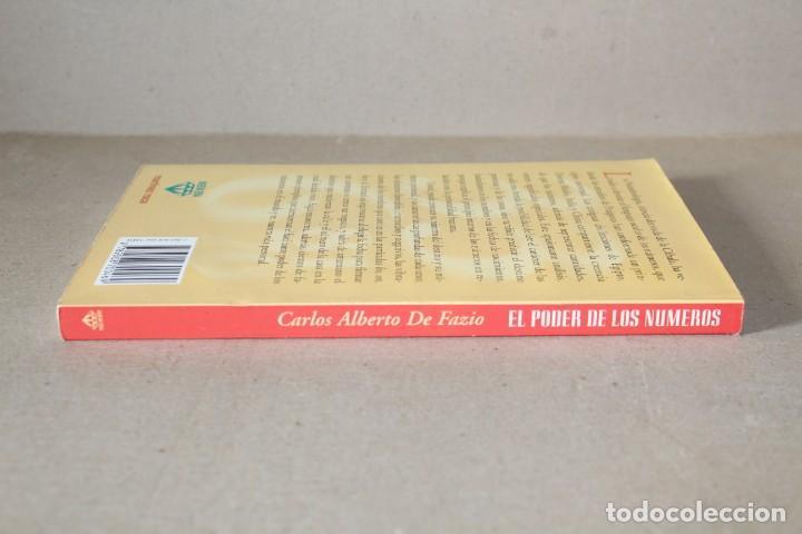 Libros de segunda mano: EL PODER DE LOS NUMEROS. EL LENGUAJE MÁGICO DE LA NUMEROLOGÍA. CARLOS DE FAZIO - MARTINEZ ROCA 1996 - Foto 4 - 191465230