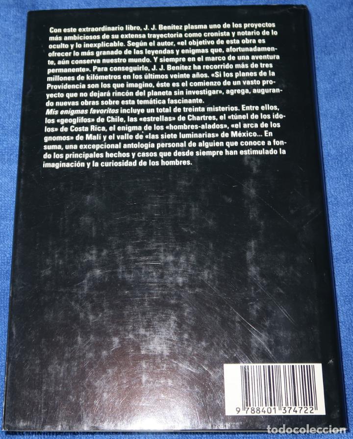Libros de segunda mano: Mis Enigmas Favoritos - J.J.Benitez - Editorial Plaza & Janés - 1ª edición (1993) - Foto 5 - 191749843