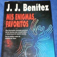 Libros de segunda mano: MIS ENIGMAS FAVORITOS - J.J.BENITEZ - EDITORIAL PLAZA & JANÉS - 1ª EDICIÓN (1993). Lote 191749843
