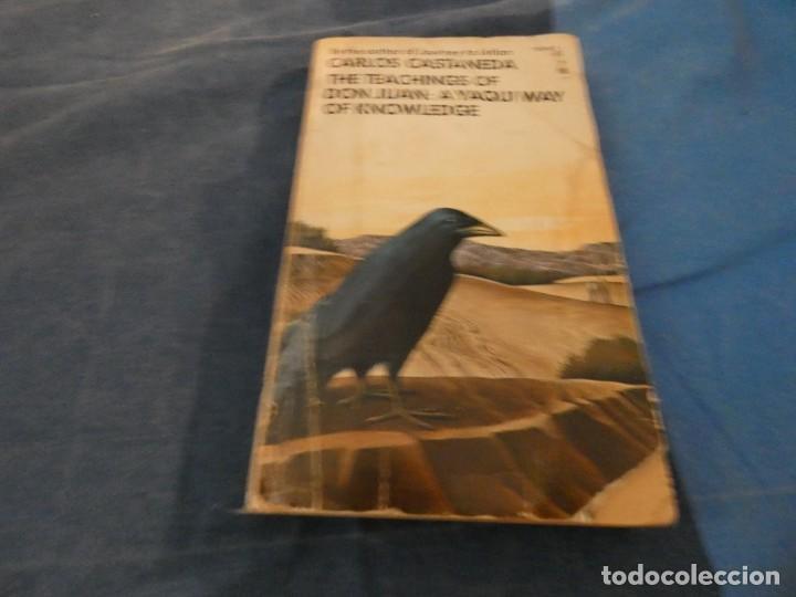 LIBRO -500 GR CARLOS CASTANEDA THE TEACHINGS OF DON JUAN A YAQUI WAY OF KNOWLEDGE 3A ED USA 1974 (Libros de Segunda Mano - Parapsicología y Esoterismo - Ufología)