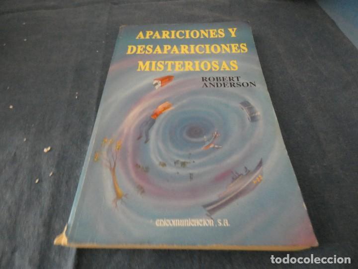 LIBRO MENOS DE 500 GRAMOS APARICIONES Y DESAPARICIONES MISTERIOSAS ED ARANA (Libros de Segunda Mano - Parapsicología y Esoterismo - Ufología)