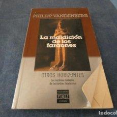 Libros de segunda mano: LIBRO MENOS DE 500 GRAMOS VANDEMBERG LA MALDICION DE LOS FARAONES . Lote 191922322