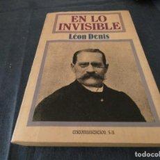 Libros de segunda mano: LIBRO -DE 500 GRAMOS EN LO INVISIBLE EDICOMUNICACION 1987. Lote 191922755