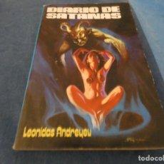 Libros de segunda mano: LIBRO -DE 500 GRAMOS LEONIDAS ANDREYEU DIARIO DE SATANAS 1980. Lote 191934480