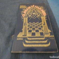 Libros de segunda mano: LIBRO MENOS DE 500 GRAMOS EMILIO CASTELL BLANCH CLAVES DE LA MASONERIA. Lote 191934695
