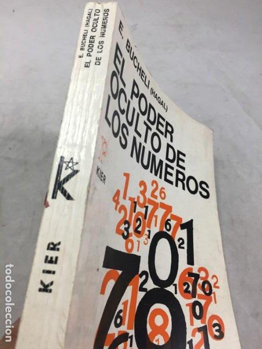 Libros de segunda mano: EL PODER OCULTO DE LOS NUMEROS, E. Buchelli (Hagal) - KIER - Argentina - 1973 - Foto 2 - 192858993