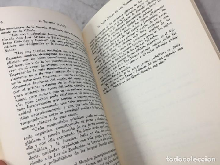 Libros de segunda mano: EL PODER OCULTO DE LOS NUMEROS, E. Buchelli (Hagal) - KIER - Argentina - 1973 - Foto 5 - 192858993
