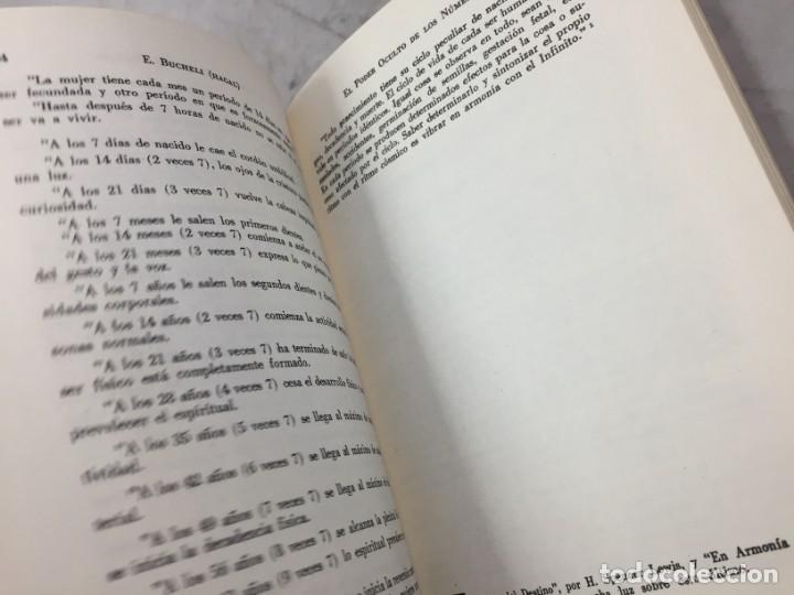 Libros de segunda mano: EL PODER OCULTO DE LOS NUMEROS, E. Buchelli (Hagal) - KIER - Argentina - 1973 - Foto 6 - 192858993