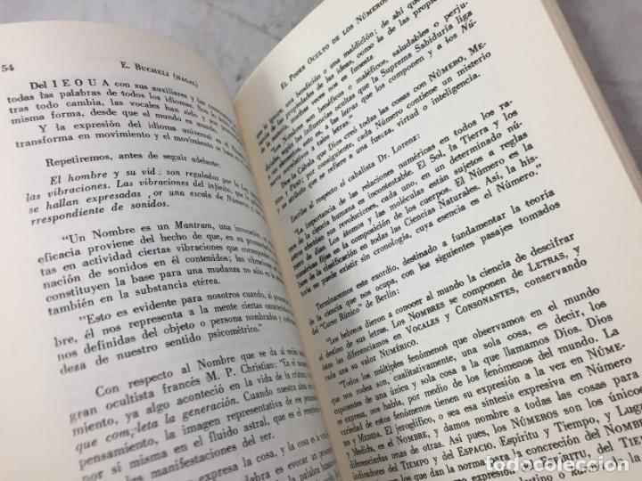 Libros de segunda mano: EL PODER OCULTO DE LOS NUMEROS, E. Buchelli (Hagal) - KIER - Argentina - 1973 - Foto 7 - 192858993