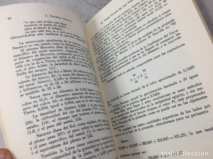 Libros de segunda mano: EL PODER OCULTO DE LOS NUMEROS, E. Buchelli (Hagal) - KIER - Argentina - 1973 - Foto 9 - 192858993