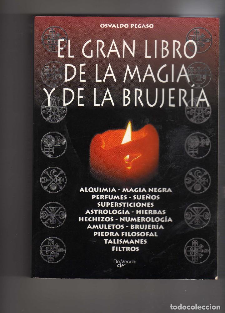 EL GRAN LIBRO DE LA MAGIA Y LA BRUJERIA DE OSVALDO PEGASO (Libros de Segunda Mano - Parapsicología y Esoterismo - Numerología y Quiromancia)