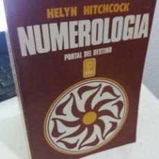 Libros de segunda mano: NUMEROLOGÍA PORTAL DEL DESTINO - HITCHCOCK, HELYN. Lote 193191067