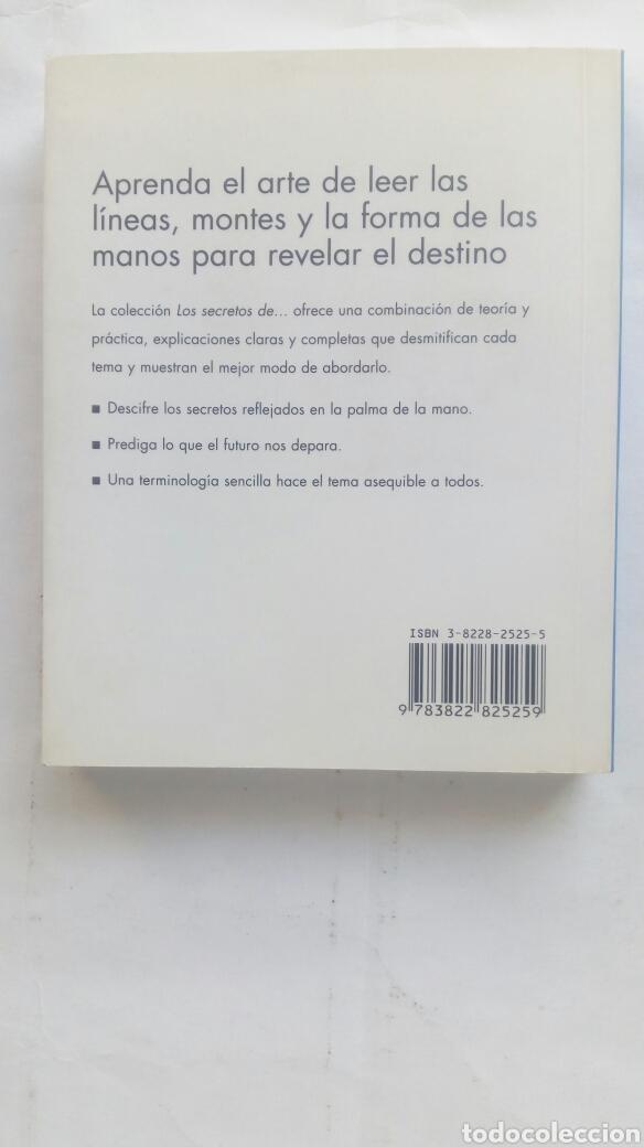 Libros de segunda mano: Los secretos de la Quiromancia. Peter West. - Foto 2 - 193943697