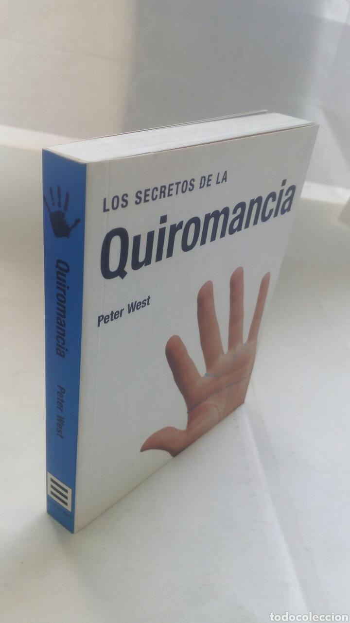 Libros de segunda mano: Los secretos de la Quiromancia. Peter West. - Foto 5 - 193943697