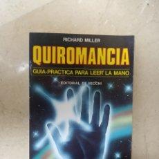 Libros de segunda mano: QUIROMANCIA. Lote 194100761