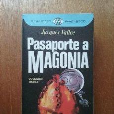 Libros de segunda mano: PASAPORTE A MAGONIA, JACQUES VALLEE, REALISMO FANTASTICO PLAZA & JANES, 1976. Lote 194214165