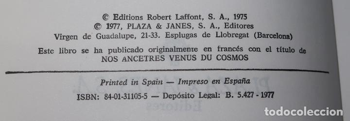Libros de segunda mano: Nuestros ascendientes llegados del Cosmos - Maurice Chatelain - Plaza & Janés (1977) - Foto 3 - 194405687