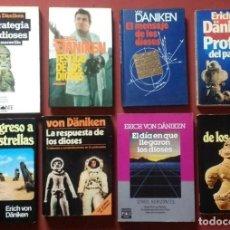 Libros de segunda mano: LOTE DE 8 LIBROS DE VON DÄNIKEN - UFOLOGIA.. Lote 194568738