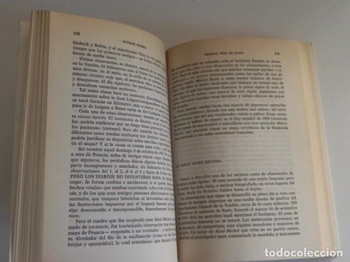 Libros de segunda mano: TREINTA AÑOS DE OVNIS LIBRO ANTONIO RIVERA UFOLOGÍA CASOS RÍO DE JANEIRO LA NUBE RÍGIDA ETC MISTERIO - Foto 6 - 194725372