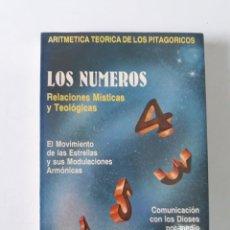 Libros de segunda mano: LOS NÚMEROS. RELACIONES MÍSTICAS Y TEOLÓGICAS (ARITMÉTICA TEORICA DE LOS PITAGORICOS) - T. TAYLOR. Lote 194783116