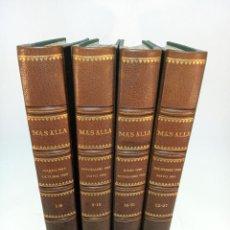 Libros de segunda mano: COLECCIÓN CON ENCUADERNACIÓN DE CALIDAD. REVISTAS MÁS ALLÁ. DE 1 AL 27. 1989- 1991.. Lote 195046445