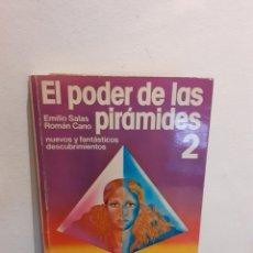 Libros de segunda mano: EL PODER DE LAS PIRÁMIDES DOS. Lote 195093258