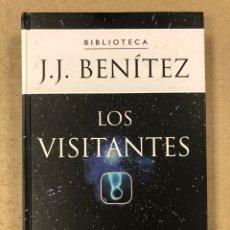 Libros de segunda mano: BIBLIOTECA J.J. BENÍTEZ. LOS VISITANTES. PLANETA DEAGOSTINI 2002. TAPA DURA. ILUSTRADO.. Lote 195136721