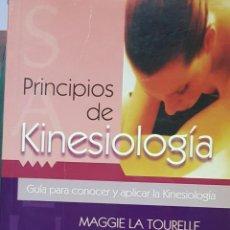Libros de segunda mano: PRINCIPIOS DE KINESIOLOGÍA. Lote 195190230
