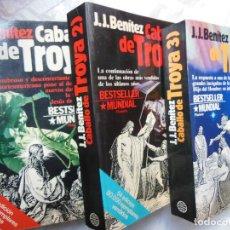 Libros de segunda mano: EL CABALLO DE TROYA 1. EL CABALLO DE TROYA 2. EL CABALLO DE TROYA 3. TRES TOMOS. 1984. Lote 195376175