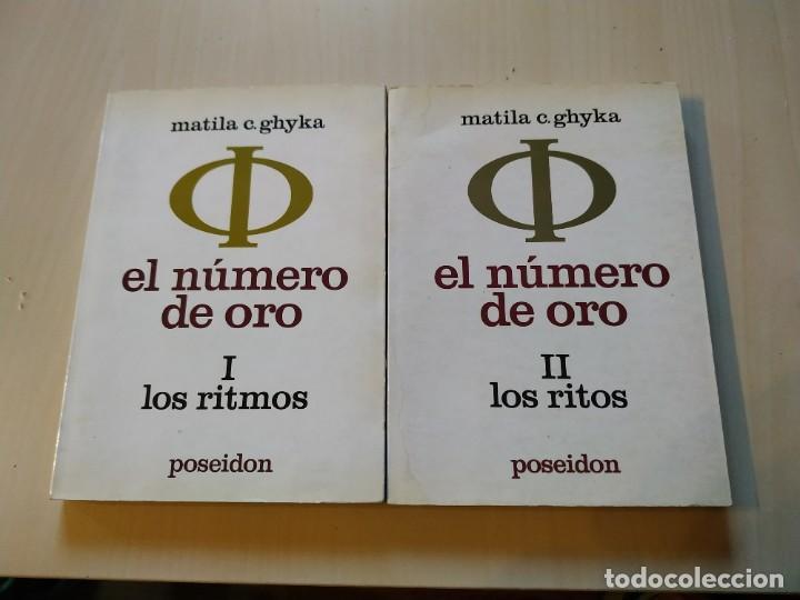 EL NÚMERO DE ORO COMPLETO. I. LOS RITMOS. II. LOS RITOS - MATILA C. GHYKA. POSEIDÓN (Libros de Segunda Mano - Parapsicología y Esoterismo - Numerología y Quiromancia)