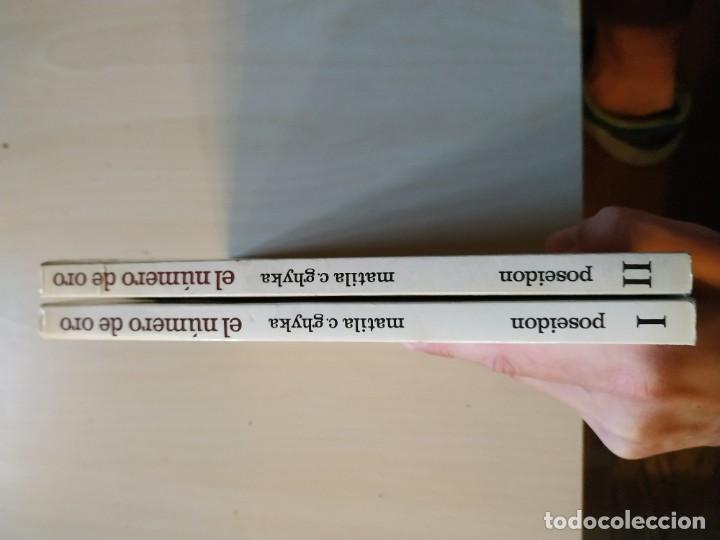 Libros de segunda mano: El Número de Oro Completo. I. Los Ritmos. II. Los Ritos - Matila C. Ghyka. Poseidón - Foto 3 - 198772693