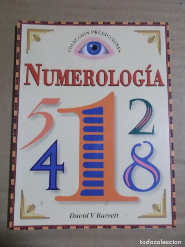 NUMEROLOGIA DAVID V. BARRRET (Libros de Segunda Mano - Parapsicología y Esoterismo - Numerología y Quiromancia)