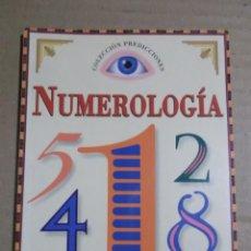 Libros de segunda mano: NUMEROLOGIA DAVID V. BARRRET. Lote 204189037