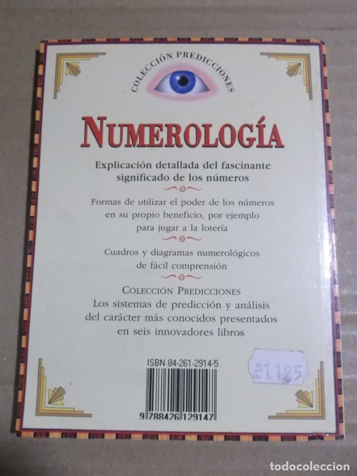 Libros de segunda mano: NUMEROLOGIA DAVID V. BARRRET - Foto 3 - 204189037