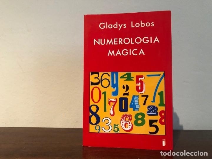 NUMEROLOGIA MÁGICA. GLADYS LOBOS. EDICIONES INDIGO. NUEVO (Libros de Segunda Mano - Parapsicología y Esoterismo - Numerología y Quiromancia)