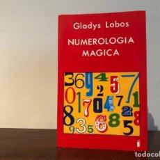 Libros de segunda mano: NUMEROLOGIA MÁGICA. GLADYS LOBOS. EDICIONES INDIGO. NUEVO. Lote 204468867