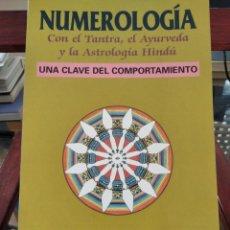 Libros de segunda mano: NUMEROLOGIA-CON EL TANTRA,EL AVURYEDA Y LA ASTROLOGIA HINDU-HARISH JOHARI-EDAF-1995. Lote 205251743