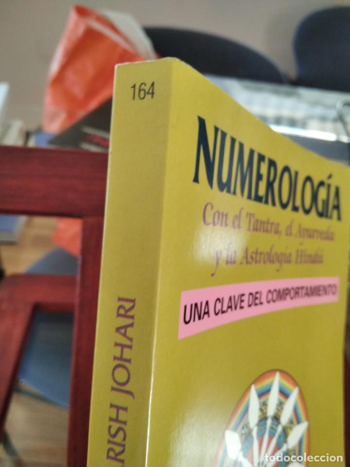 Libros de segunda mano: NUMEROLOGIA-Con el tantra,el avuryeda y la astrologia hindu-HARISH JOHARI-EDAF-1995 - Foto 2 - 205251743