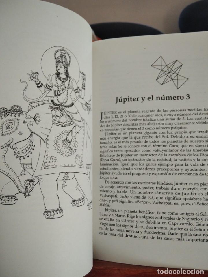 Libros de segunda mano: NUMEROLOGIA-Con el tantra,el avuryeda y la astrologia hindu-HARISH JOHARI-EDAF-1995 - Foto 11 - 205251743