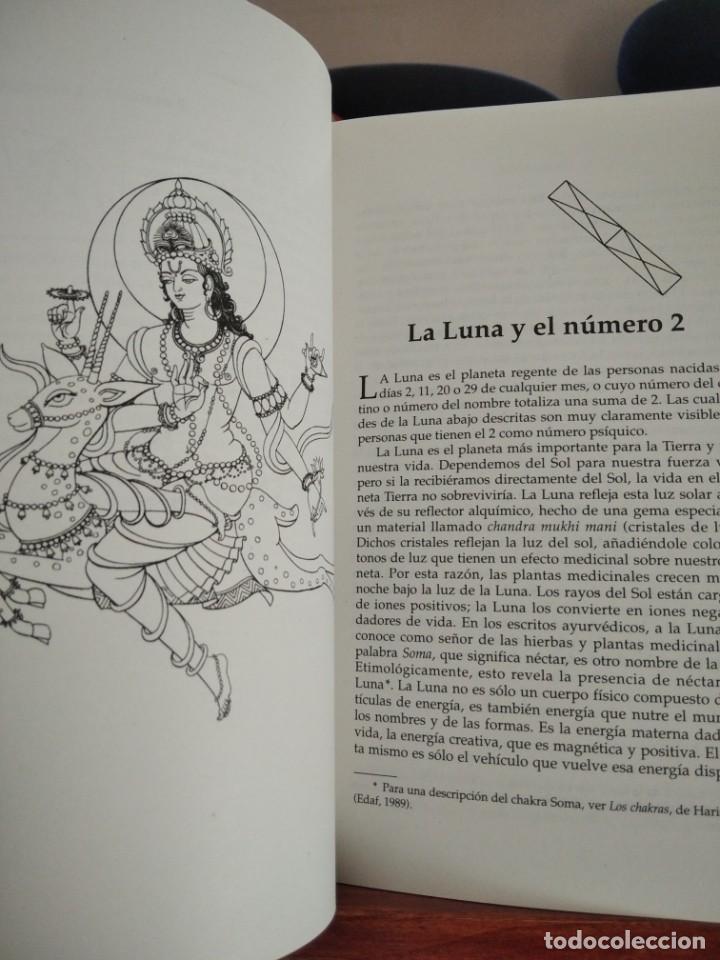 Libros de segunda mano: NUMEROLOGIA-Con el tantra,el avuryeda y la astrologia hindu-HARISH JOHARI-EDAF-1995 - Foto 13 - 205251743