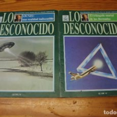 Libros de segunda mano: NUMERO 2 Y TRES DEL COLECCIONABLE LO DESCONOCIDO. DR, JIMENEZ DEL OSO.. Lote 205794936
